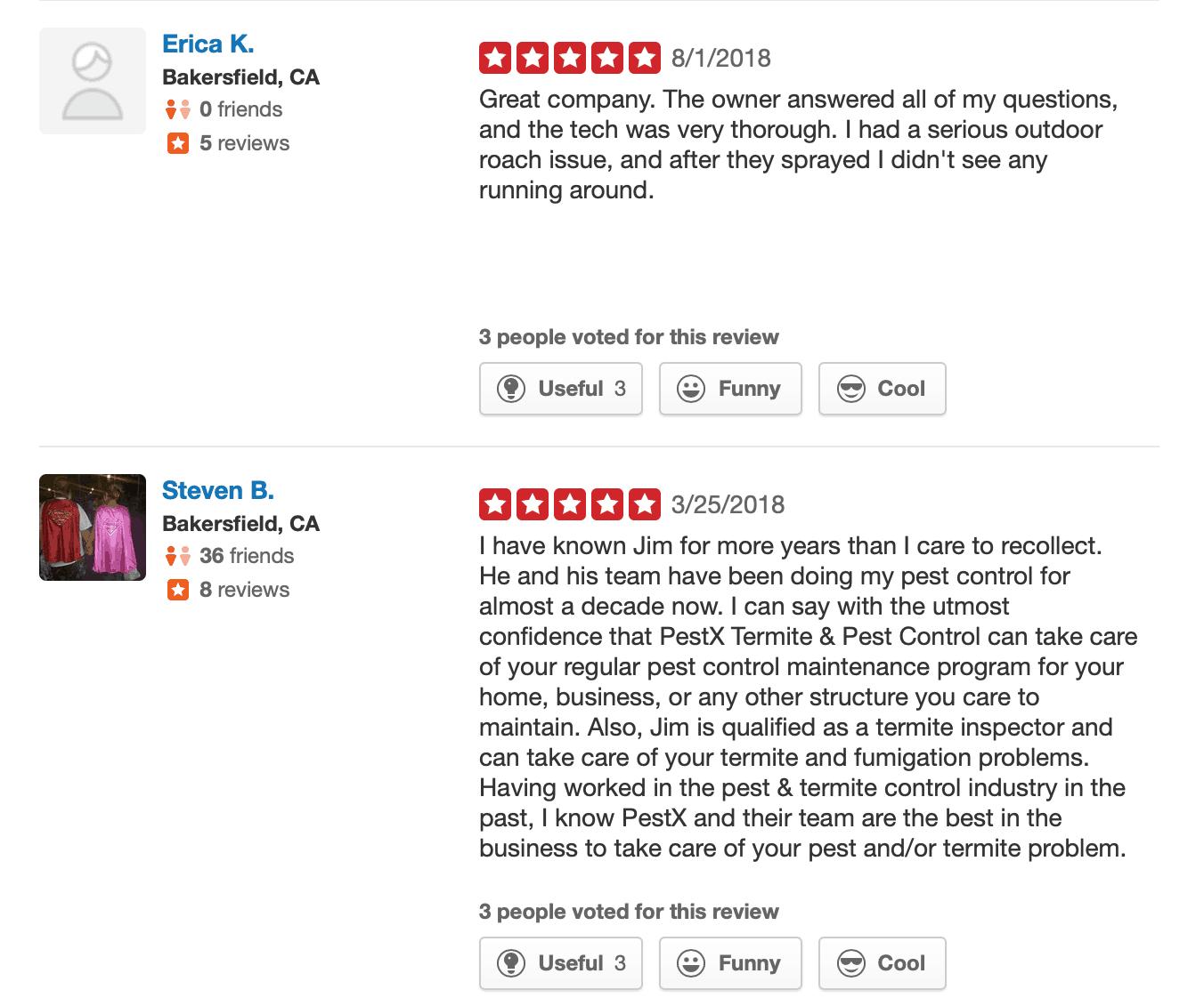 Bakersfield Pest Control Reviews, PEST X